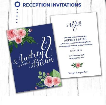 Wedding Reception Invites