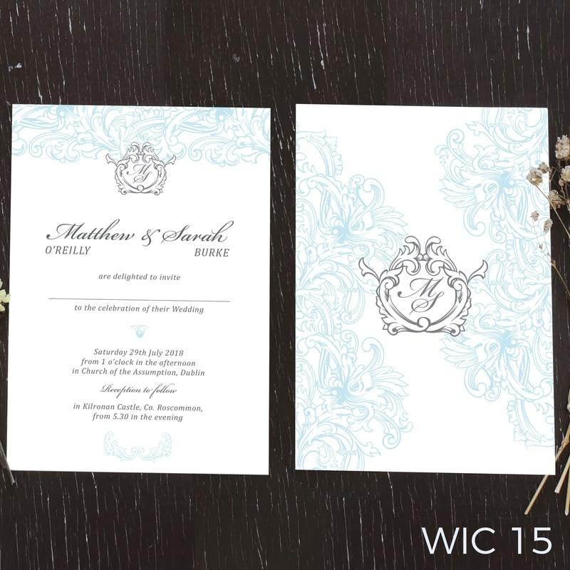 Wedding invites WIC15
