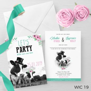Farm Wedding Invite